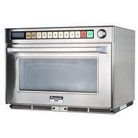 Panasonic NE-2180 Sonic Steamer Commercial Microwave Oven - 208/230-240V, 2100W