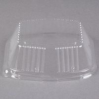 Genpak 94250 Smart-Set 7 inch Clear Dome Tray Lid - 500/Case