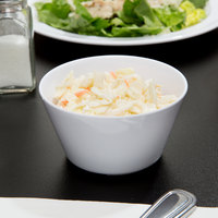 Thunder Group NS302W Nustone White Melamine 8 oz. Bouillon - 12/Pack