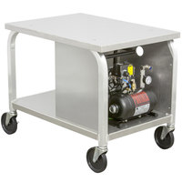 DoughXpress DXC-3AC Mobile Cart with Air Compressor for Air Operated Dough Presses