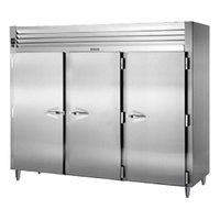 Traulsen RHT332WPUT-FHS Stainless Steel 83.2 Cu. Ft. Three Section Pass-Through Refrigerator - Specification Line