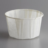 Genpak F325 Harvest Paper 3.25 oz. Compostable Souffle / Portion Cup   - 250/Pack