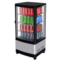 Turbo Air CRT-77-1R Diamond Swing Countertop Display Refrigerator with Swing Door - 3 cu. ft.
