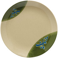 GET 208-5-TD Japanese Traditional 12 inch Plate with Wide Rim - 12/Case