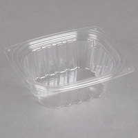 Dart C6DER ClearPac 6 oz. Clear Rectangular Plastic Container - 1008/Case