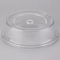 Cambro 806CW152 Camwear Camcover 8 7/16 inch Clear Plate Cover - 12/Case