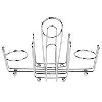 Wire Salt & Pepper Shaker / Sugar Packet Rack