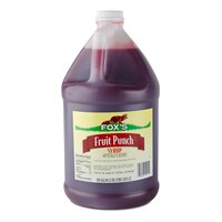 Fox's Fruit Punch Concentrate (4) 1 Gallon Containers / Case