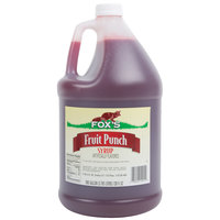 Fox's 1 Gallon Fruit Punch Concentrate - 4/Case