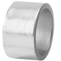 Tabletop Classics AC-6512S Silver 1 3/4 inch Round Acrylic Napkin Ring