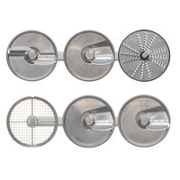 Hobart 3PLATE-6PACK-SSP Slicing Plate Kit