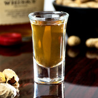 Libbey 5033 1 oz. Tall Whiskey / Shot Glass with .96 oz. Cap Line - 12/Case