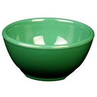 Thunder Group CR5804GR Green 10 oz. Melamine Soup Bowl, 4 5/8 inch - 12/Case