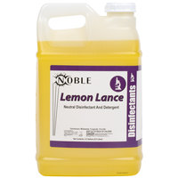 Noble Chemical 2.5 Gallon Lemon Lance Lemon Disinfectant & Detergent Cleaner - Ecolab® 14522 Alternative - 2/Case