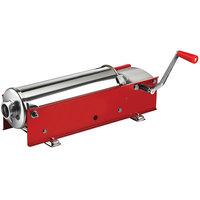 Manual 15 lb. Horizontal 2-Speed Enameled Steel Sausage Stuffer