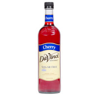 DaVinci Gourmet 750 mL Cherry Sugar Free Coffee Flavoring / Fruit Syrup