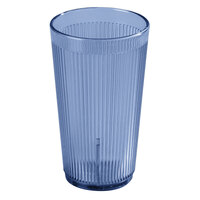 Carlisle 402054 Blue Crystalon SAN Tumbler 20 oz. - 48 / Case