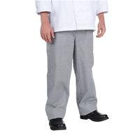 Chef Revival Men's Houndstooth Baggy Cook Pants - Medium