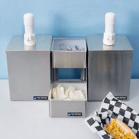San Jamar P9826 Pump and Condiment Tray Center with 2 Trays and 2 Pump Boxes