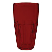 GET 9932-1-R 32 oz. Red Break-Resistant Plastic Bahama Tumbler - 72 / Case