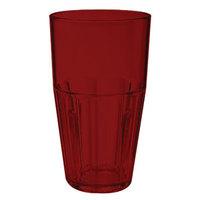 GET 9932-1-R Bahama 32 oz. Red Break-Resistant Plastic Tumbler - 72/Case