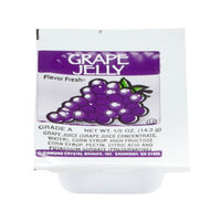 Grape Jelly - (200) .5 oz. Portion Cups / Case