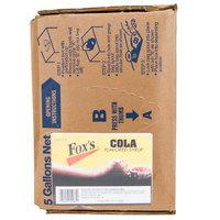 Fox's Bag In Box Cola Beverage / Soda Syrup - 5 Gallon