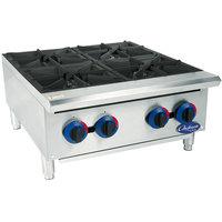 Globe C24HT Chefmate 24 inch Gas Hot Plate - 100,000 BTU