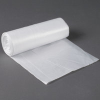 55 Gallon 16 Micron 38 inch x 60 inch Olympian High Density Can Liner / Trash Bag - 200 / Case