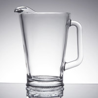 Libbey 5260 1.9 Qt. Glass Pitcher - 6/Case