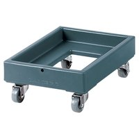 Cambro CD1420401 350 lb. Slate Blue Camdolly Milk Crate Dolly