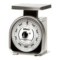 Rubbermaid Pelouze YG1000R 1000 Gram Mechanical Portion Control Scale - Metric (FGYG1000R)