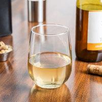 Libbey 221 Customizable 17 oz. Stemless White Wine Glass - 12/Case