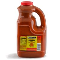 Louisiana 1 Gallon Habanero Hot Sauce - 4/Case