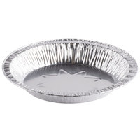 D&W Fine Pack B41 8 inch Foil Pie Plate 1 1/16 inch Deep - 100 / Pack