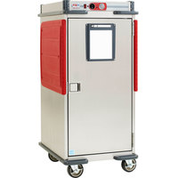 Metro C5T8-ASB C5 T-Series Transport Armour 5/6 Size Heavy Duty Heated Holding Cabinet with Analog Controls 120V
