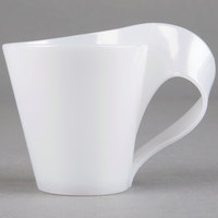 Fineline Tiny Temptations 6400-WH 2.7 oz. Tiny ToniCase White Plastic Cup 64 / Case