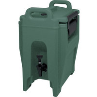 Cambro UC250192 Ultra Camtainer 2.75 Gallon Granite Green Insulated Beverage Dispenser