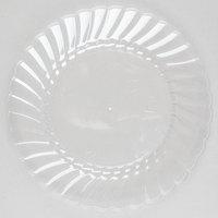 WNA Comet CW6180 Classicware 6 inch Clear Plastic Plate - 180 / Case