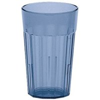 Cambro NT16401 Slate Blue Newport Customizable Plastic Tumbler 16.4 oz. - 36/Case