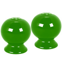 Homer Laughlin 497324 Fiesta Shamrock China Salt and Pepper Shaker Set - 4/Case