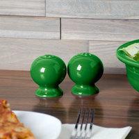 Homer Laughlin 497324 Fiesta Shamrock China Salt and Pepper Shaker Set - 4/Case