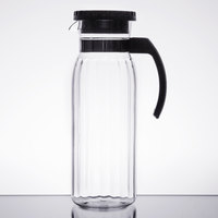 GET P-4050-CL 50 oz. Polycarbonate Pitcher with Lid