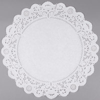 16 inch Lace Normandy Grease Proof Doilies - 250/Pack