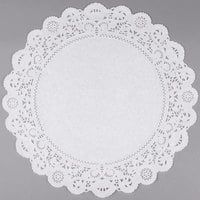 16 inch Lace Normandy Grease Proof Doilies   - 250/Case