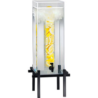 Cal-Mil 1132-5INF-13 Black One By One 5 Gallon Beverage Dispenser with Infusion Core