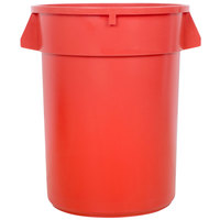 32 Gallon Red Trash Can
