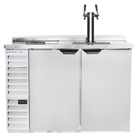 Beverage-Air DD50HC-1-C-S Single Tap Club Top Kegerator Beer Dispenser - Stainless Steel Front, (2) 1/2 Keg Capacity