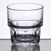 Libbey 15659 Gibraltar 9 oz. Stackable Rocks / Old Fashioned Glass - 36/Case