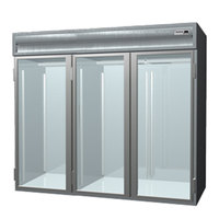 Delfield SMRRI3-G 113.28 Cu. Ft. Three Section Glass Door Roll In Refrigerator - Specification Line